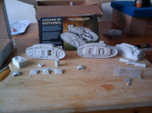 Ironclad Terrier kit unboxed