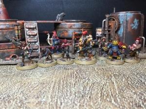 Rogue Trader Arturo & crew